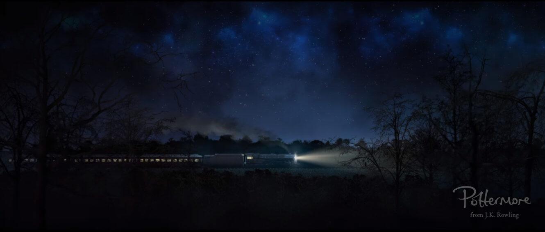 El Expreso de Hogwarts aparece en el documental del Evento para Fans de Animales fantásticos.