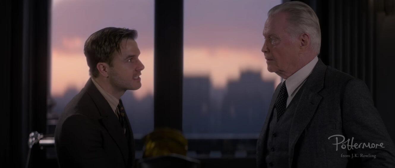 Acalorada discusión entre Henry Shaw y Langdon Shaw.
