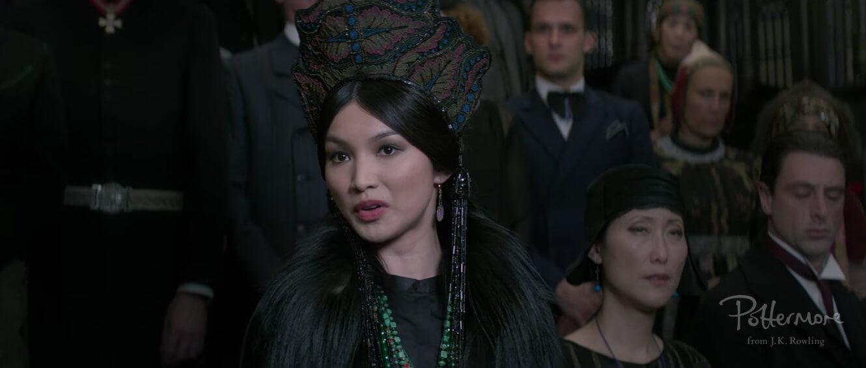 Gemma Chan aparece en el documental de Animales fantásticos.